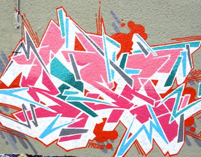 Trellik paint - Sept 2014