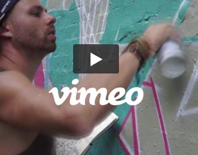 VIMEO VIDEO - Keshone painting Highgate