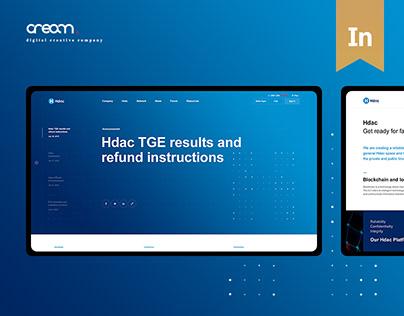Hdac Tech Website