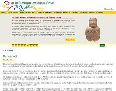 "Website ""La Dea Madre Mediterranea"""