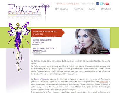 Faery Academy Website