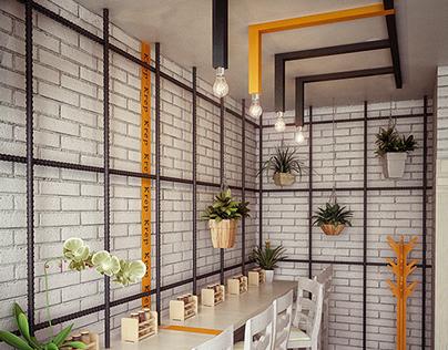 """""""Cızzlak"""" Crepe Cafe Design"""