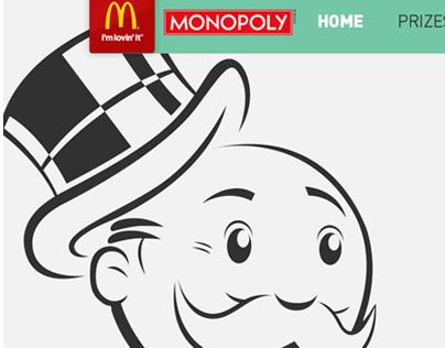 McDonald's - 2014 Online Monopoly Game