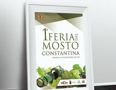 2013 Fair Poster Must / Cartel Feria del Mosto 2013