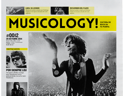 Musicology - Diario/Periódico de Rock