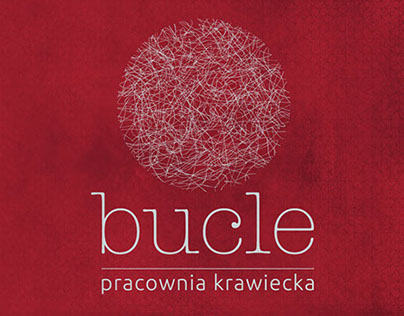 """Branding of a tailor workshop """"Bucle"""""""