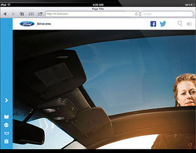 Ford.com Interactive Exploration