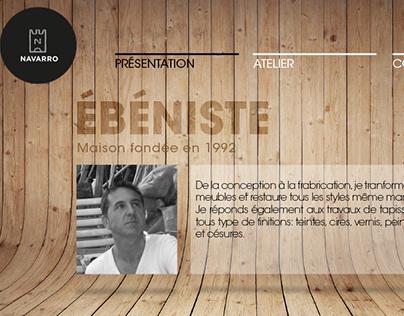 Design site Ébéniste