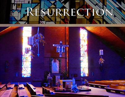 Resurrection Church website mock-up