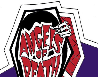 Angels of Death Logo Vector Conversion