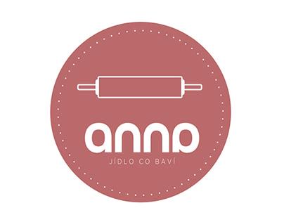 logo / ANNA   happy food