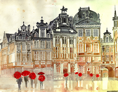 architectural watercolors vol 5
