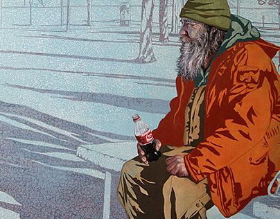 Paintings of Coca Cola