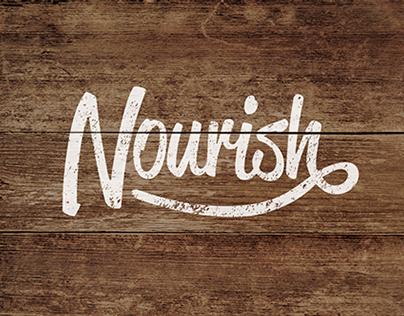 Nourish Branding and Ad Campaign
