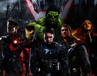Avengers Age of Ultron Concept Poster