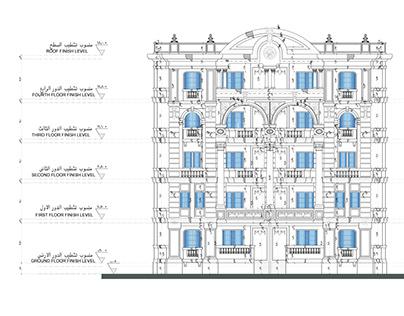 Details Construction _ Classic facade _ 01