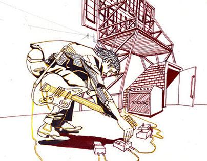 Rowland S. Howard Drawings
