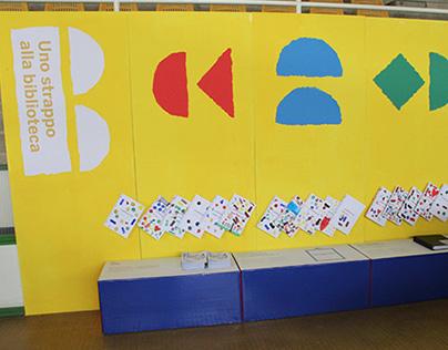 Children's library visual identity