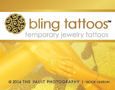 bling tattoos Tampa PhotoShoot