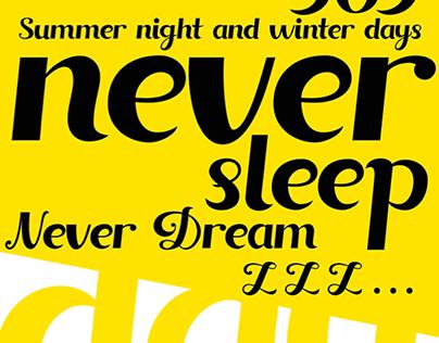 Insomnia Typeface