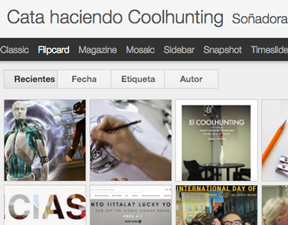 Blog de coolhunting, tendencias, diseño, arte, y vida.