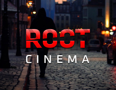 Root Cinema logo and website design