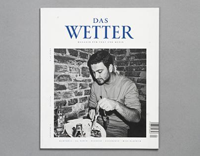 »Das Wetter« Magazine for Music and Literatur Issue 2