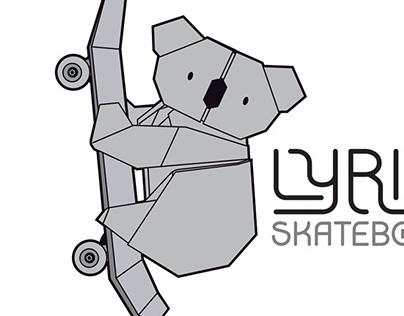 Lyrics Skateboards logo