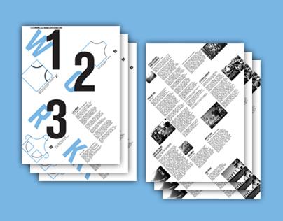 1-2-3 WORK !                         — Poster & Manual