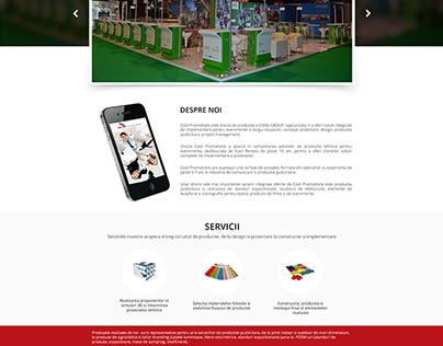Cool Promotion website