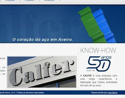 CALFER - Website 2013 www.calfer.pt