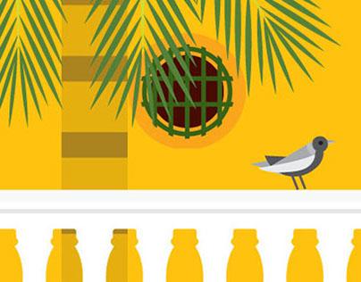 Cartagena's historic Museum Postcards