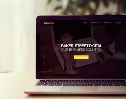 Landing page Baker Street V2
