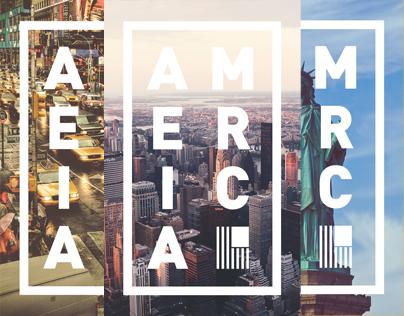 America Posters Series