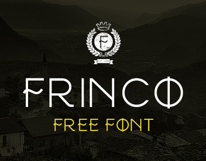 FRINCO // Free Font