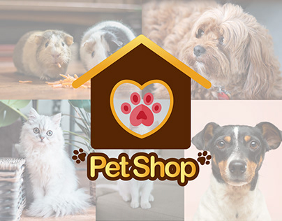 Vector Pet Shop Logo Template