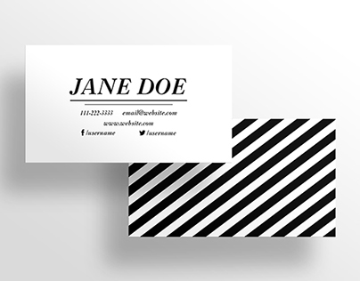 The Boutique - Business Card Template