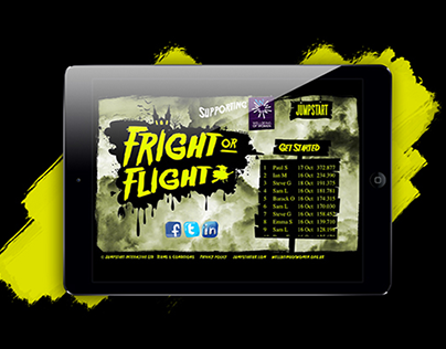 FRIGHT OR FLIGHT - HALLOWEEN GAME