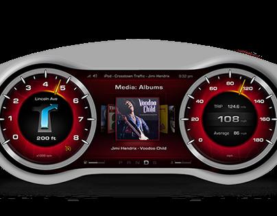 HMI Automotive Design