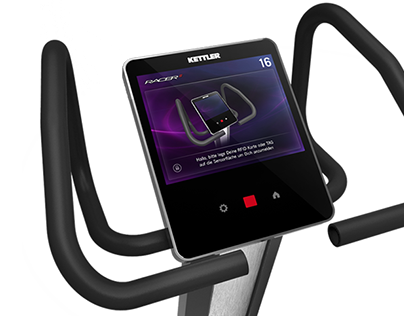 Fitness Device Interface Design