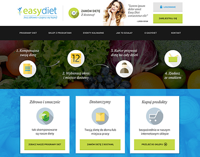 EasyDiet - portal do zamawiania diety subskrypcyjnej