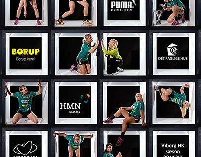 Viborg Handball Club Team poster
