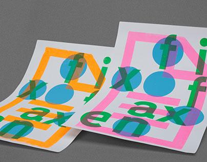 silk-screen printing posters