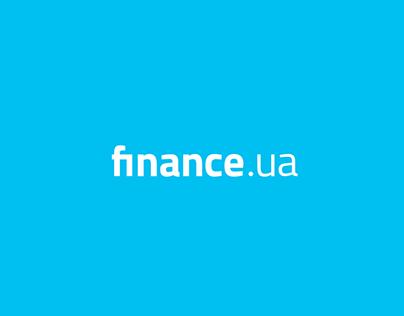 Finance.ua Corporate identity