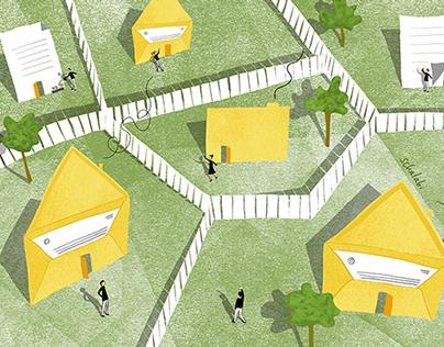 Mending The Wall (Good Fences Make Good Neighbors)