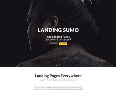 Landing Sumo Bootstrap Template