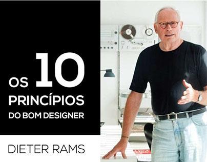 Os 10 Princípios do Bom Designer