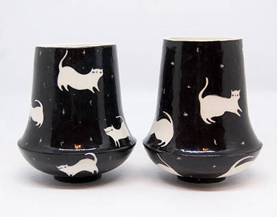 Wizard Cat Tumblers