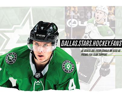 Dallas Star Fan Page: Social Promo