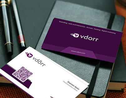 vDörr Business Card